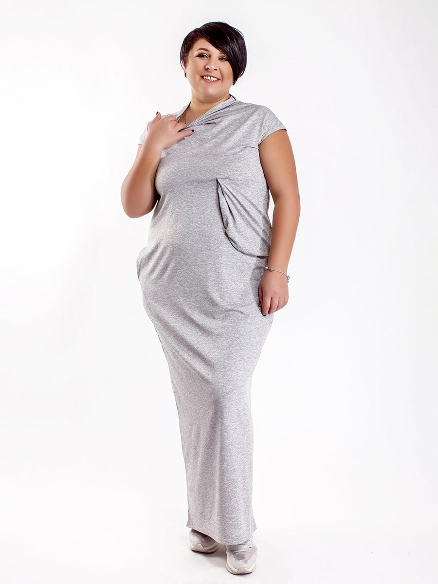 Платье серое | 5430966
