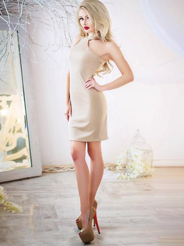 Сукня бежева | 5431003