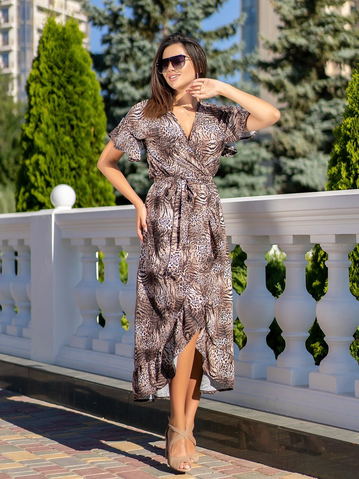 Сукня з леопардовим принтом | 5431025