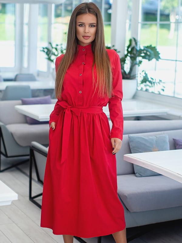 Сукня червоного кольору | 5431057