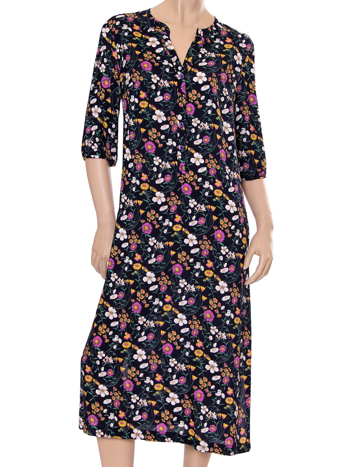 Платье с цветочным принтом | 5431151