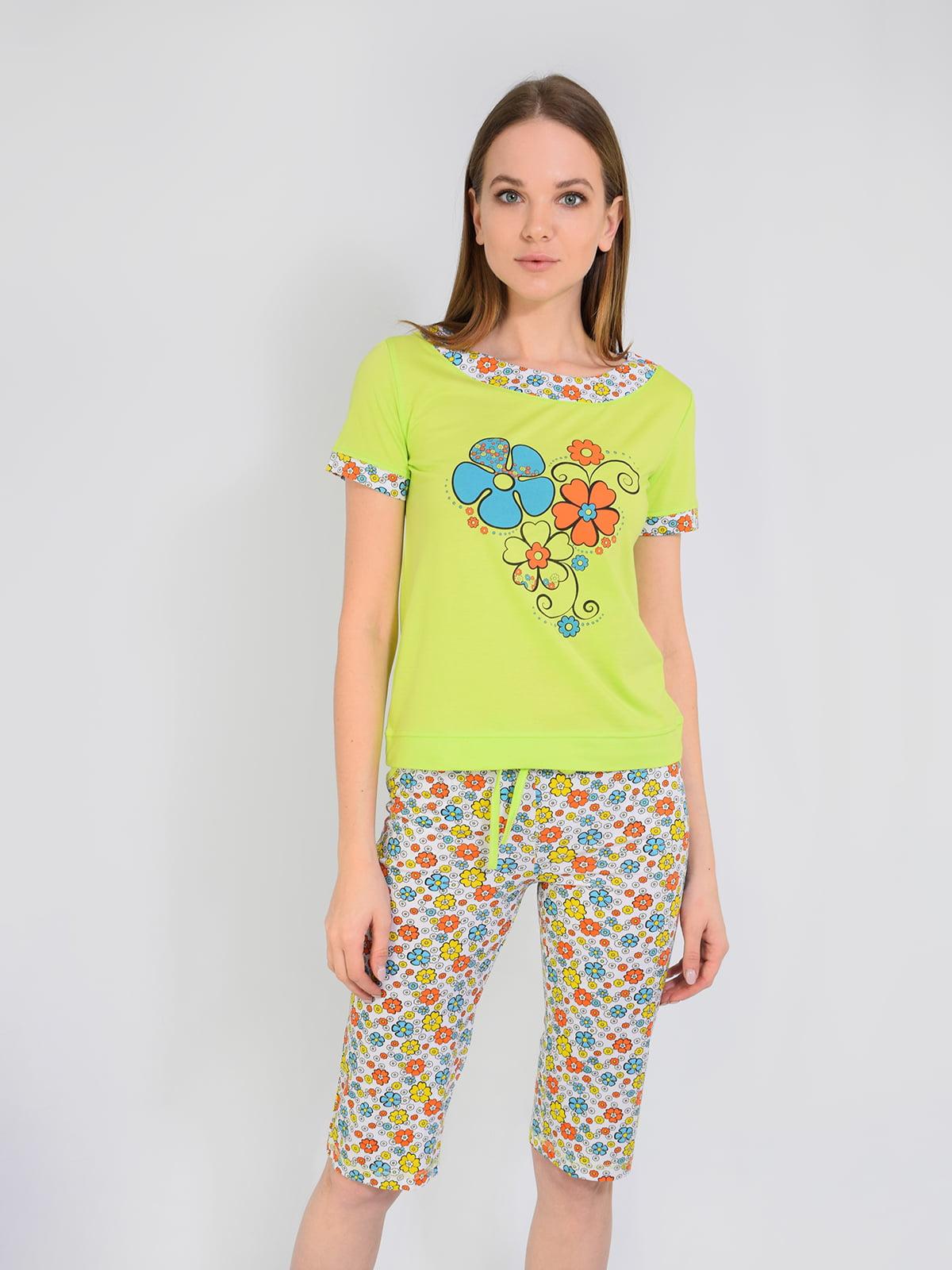 Піжама: футболка і бриджі | 5431251