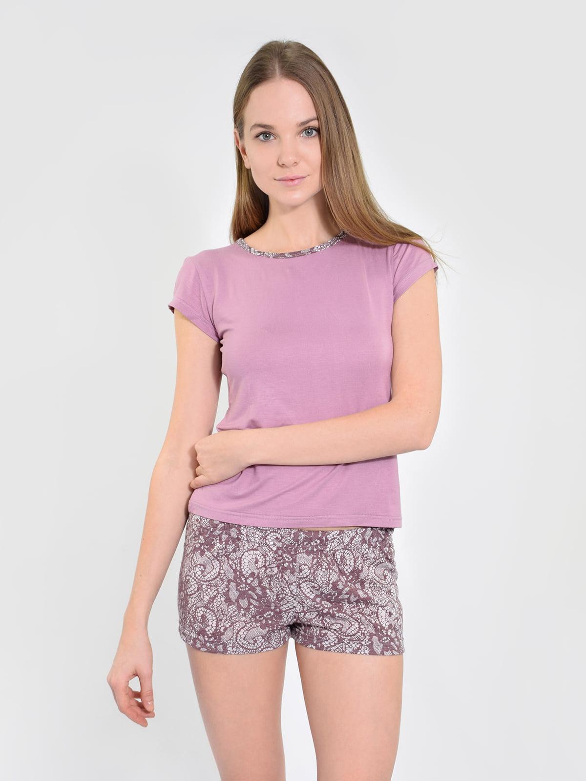 Піжама: футболка і шорти   5431287