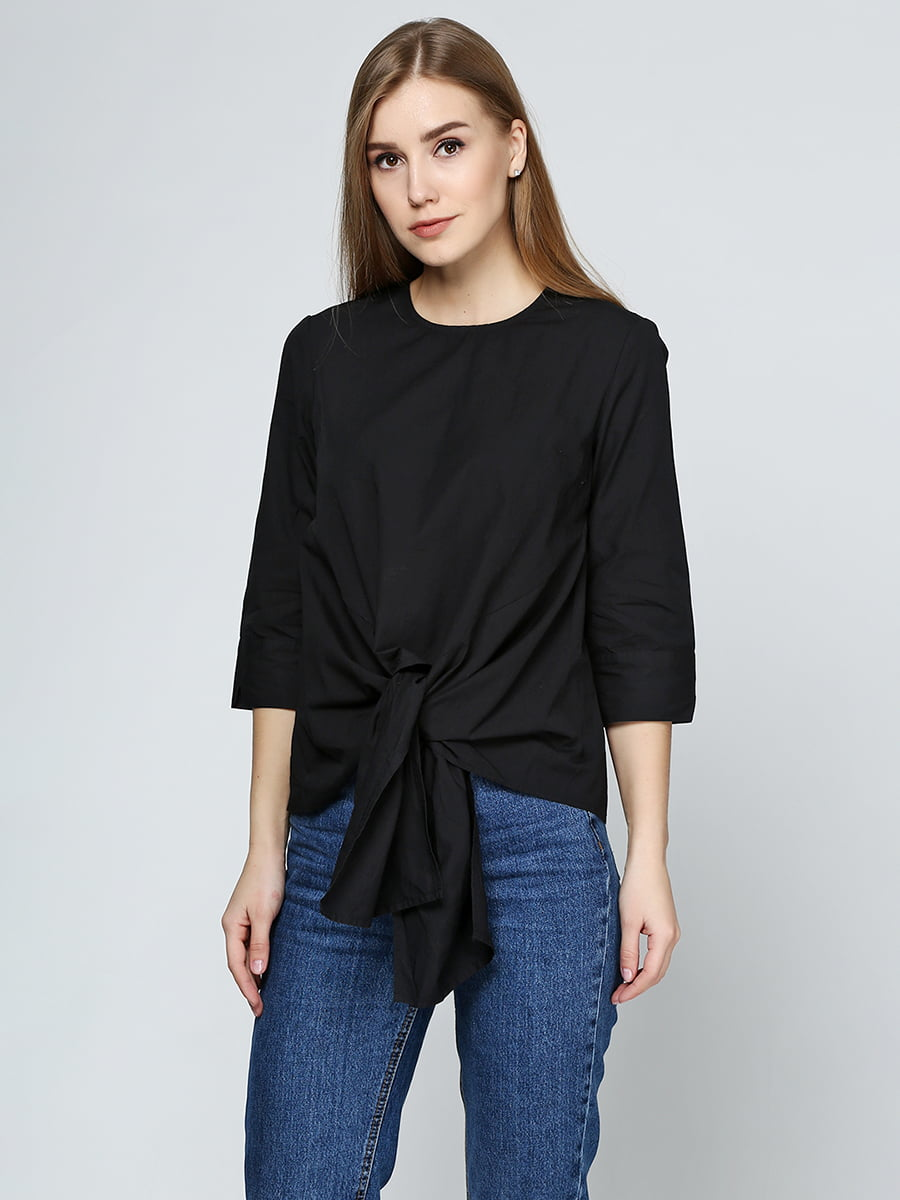Блуза черного цвета | 5433975