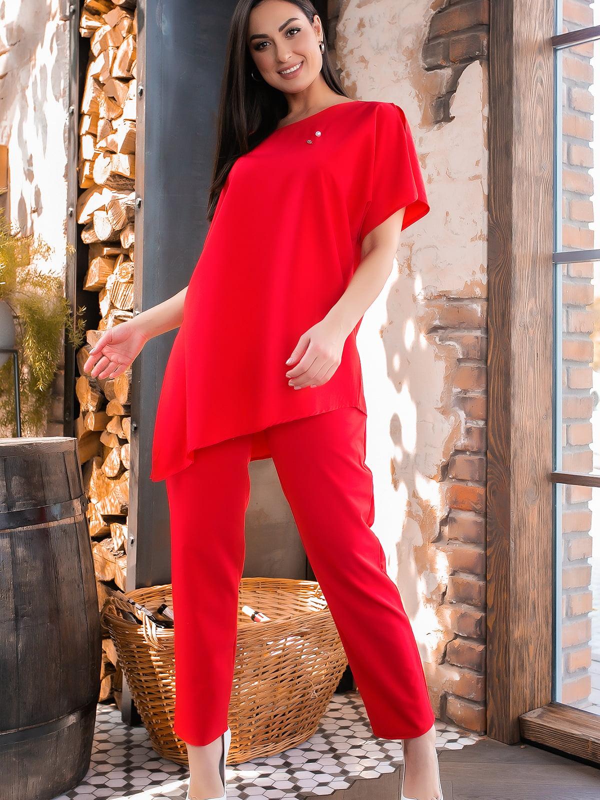 Костюм: блуза и брюки | 5445241