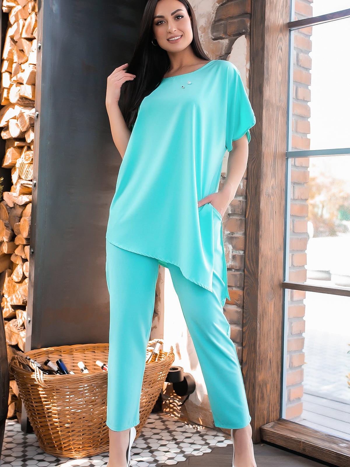 Костюм: блуза и брюки   5445242