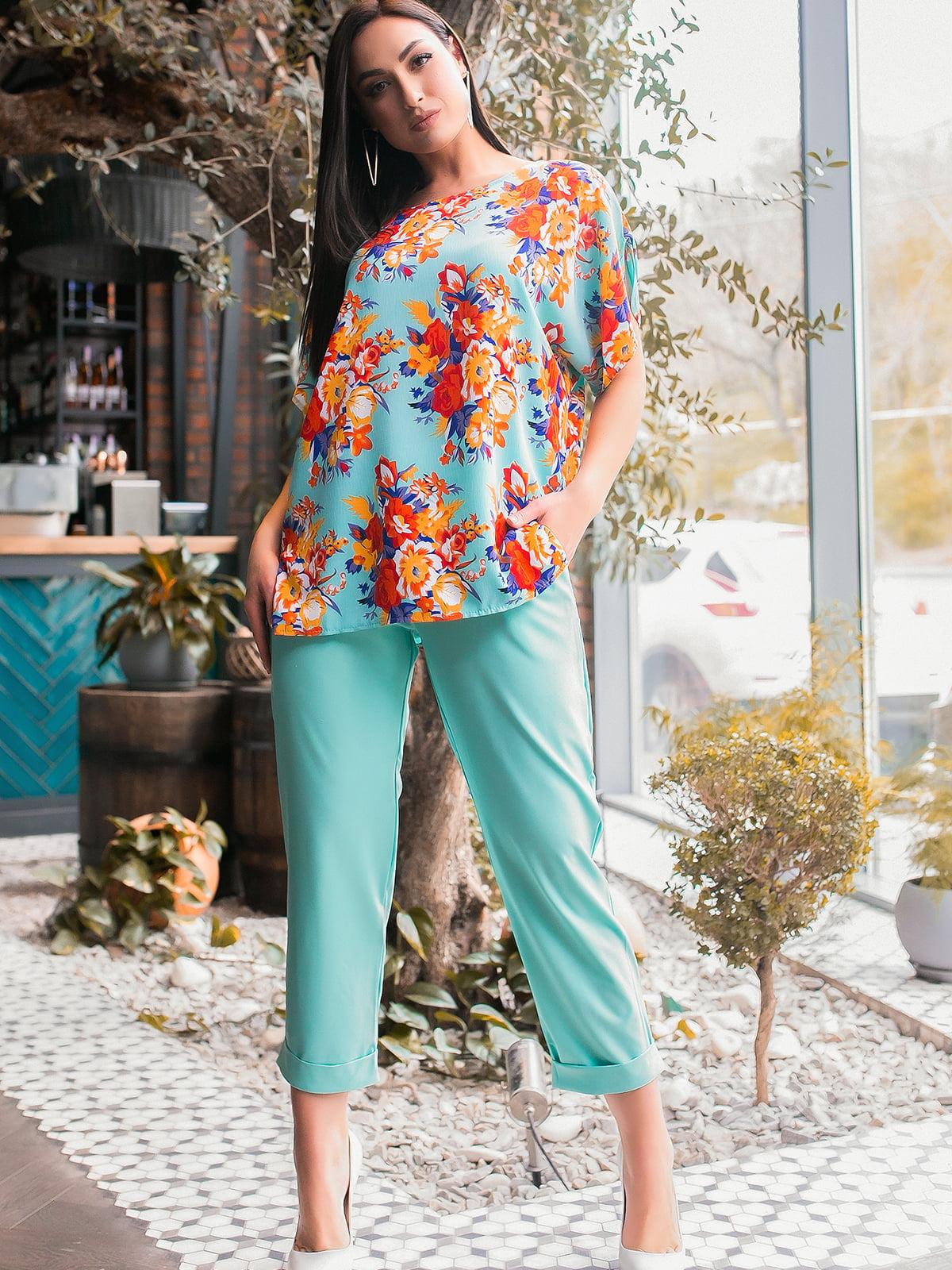 Костюм: блуза и брюки | 5445249