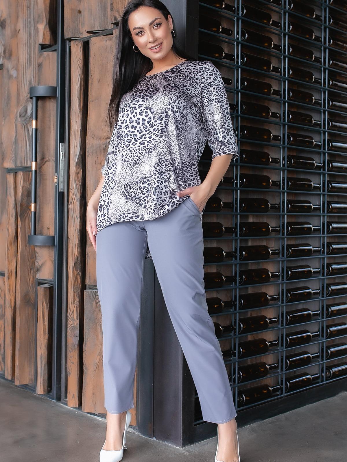 Костюм: блуза и брюки | 5445261