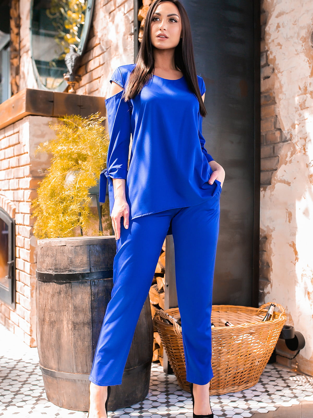 Костюм: блуза и брюки | 5445264