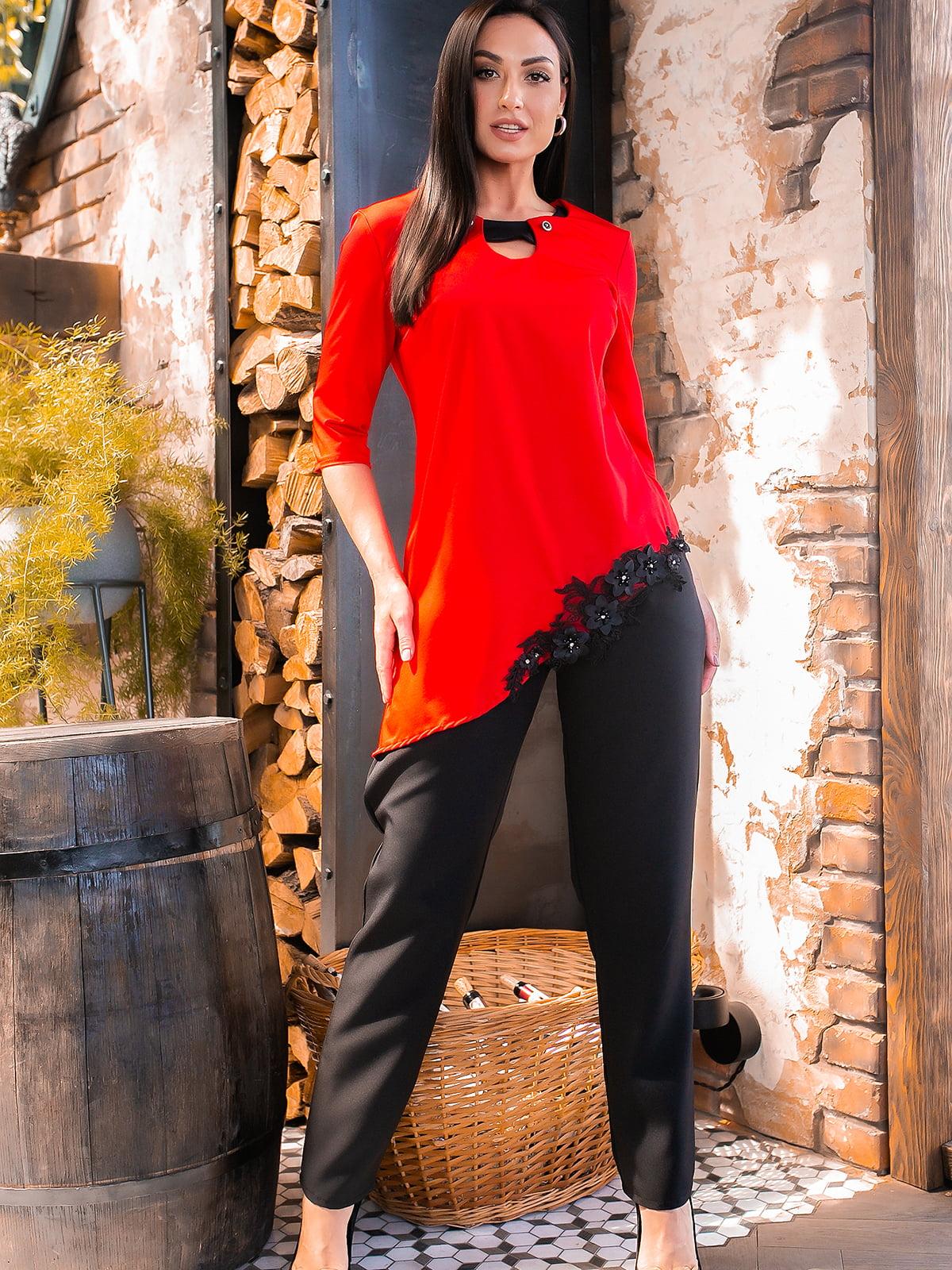 Костюм: блуза і штани | 5445269
