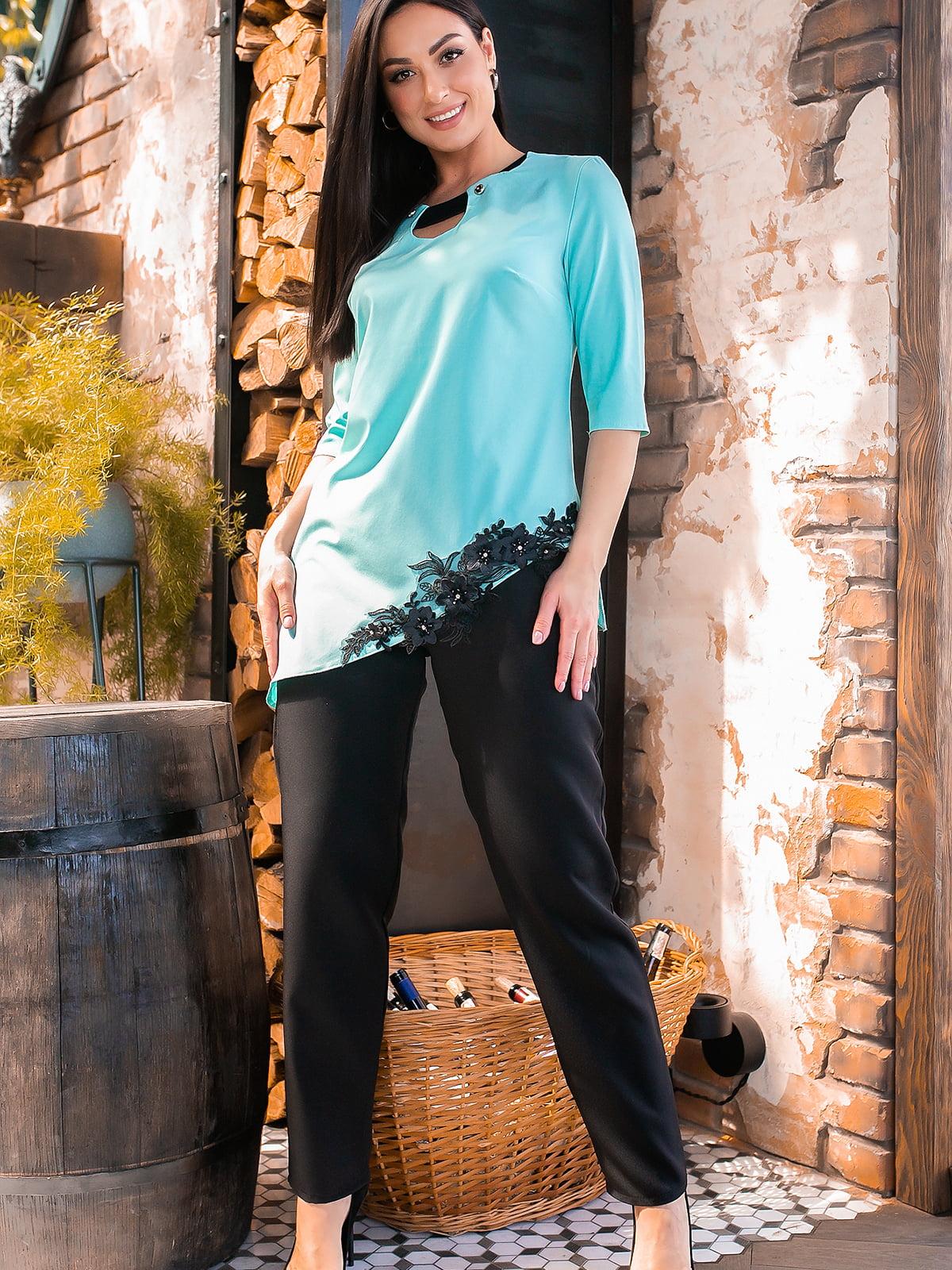 Костюм: блуза и брюки | 5445273