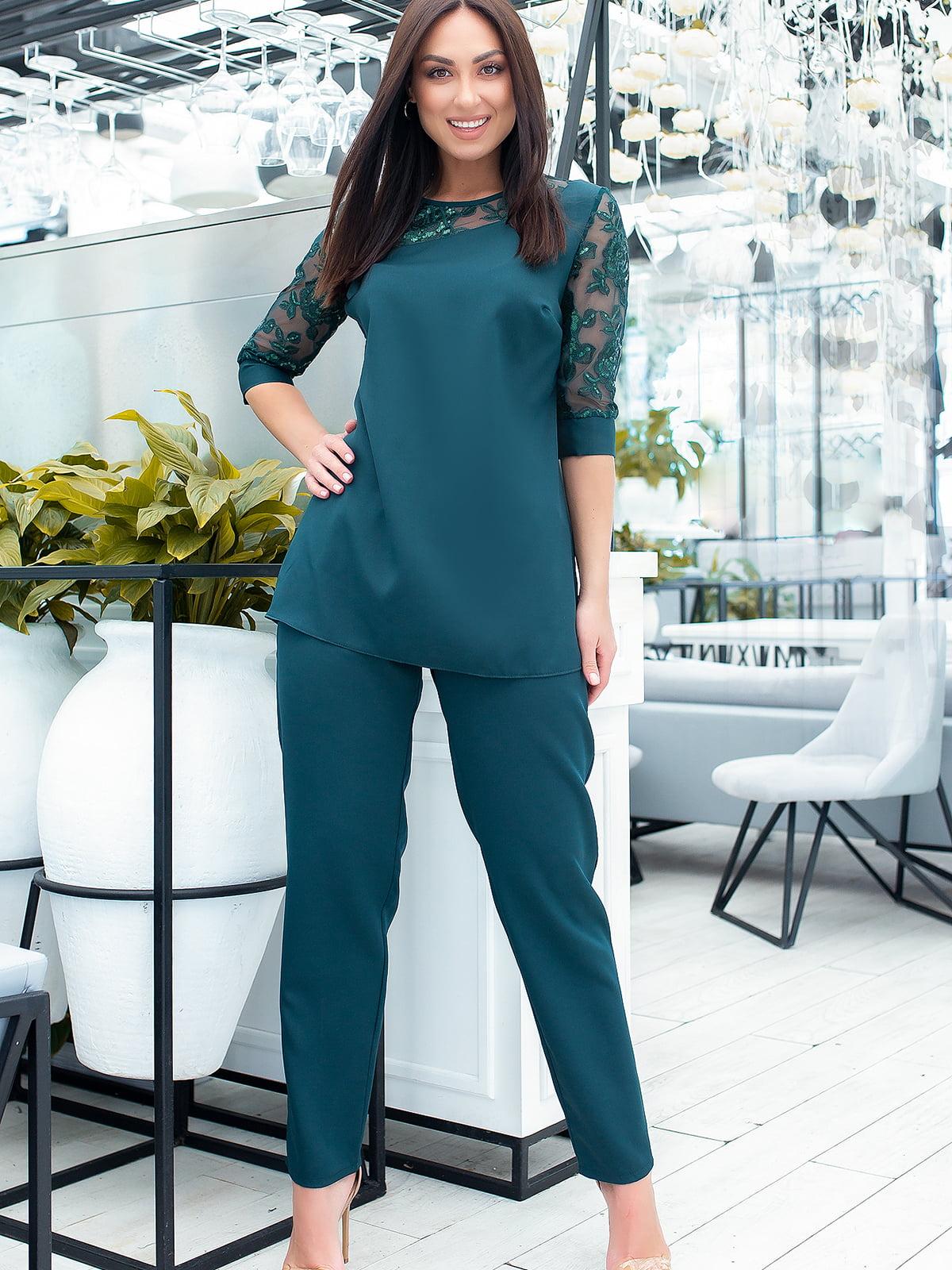 Костюм: блуза и брюки | 5445275