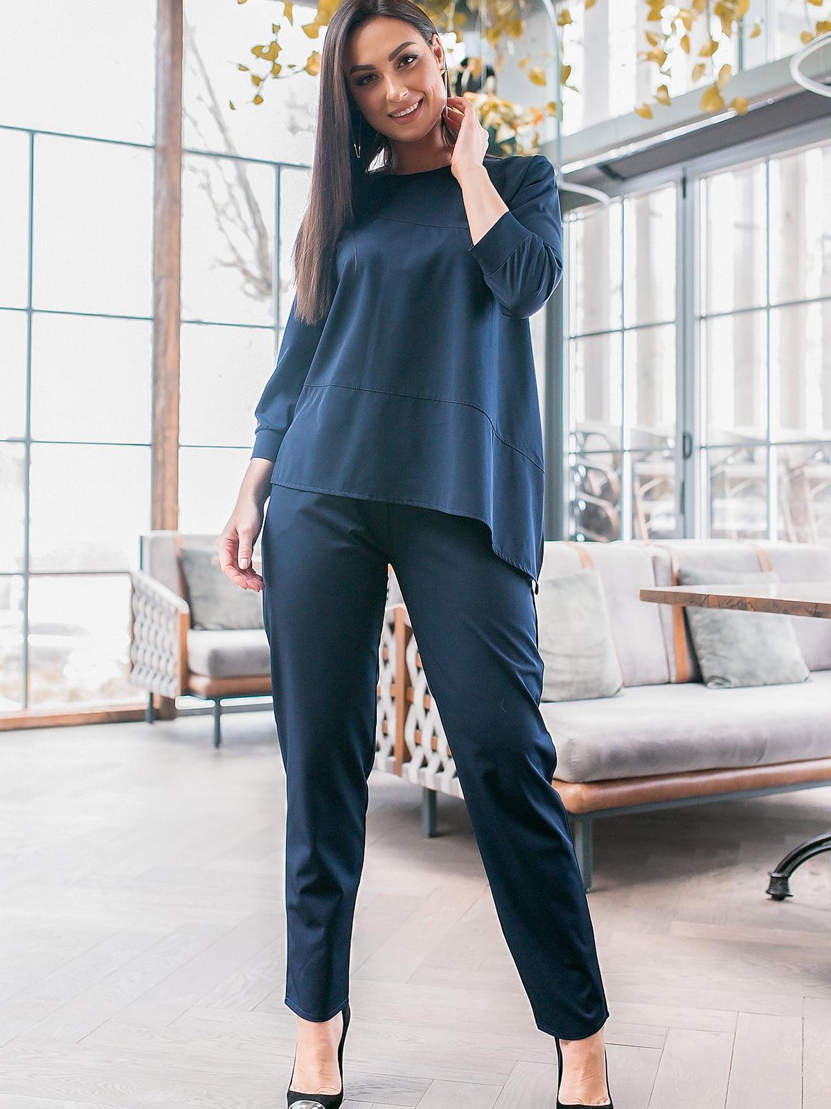 Костюм: блуза и брюки   5445285
