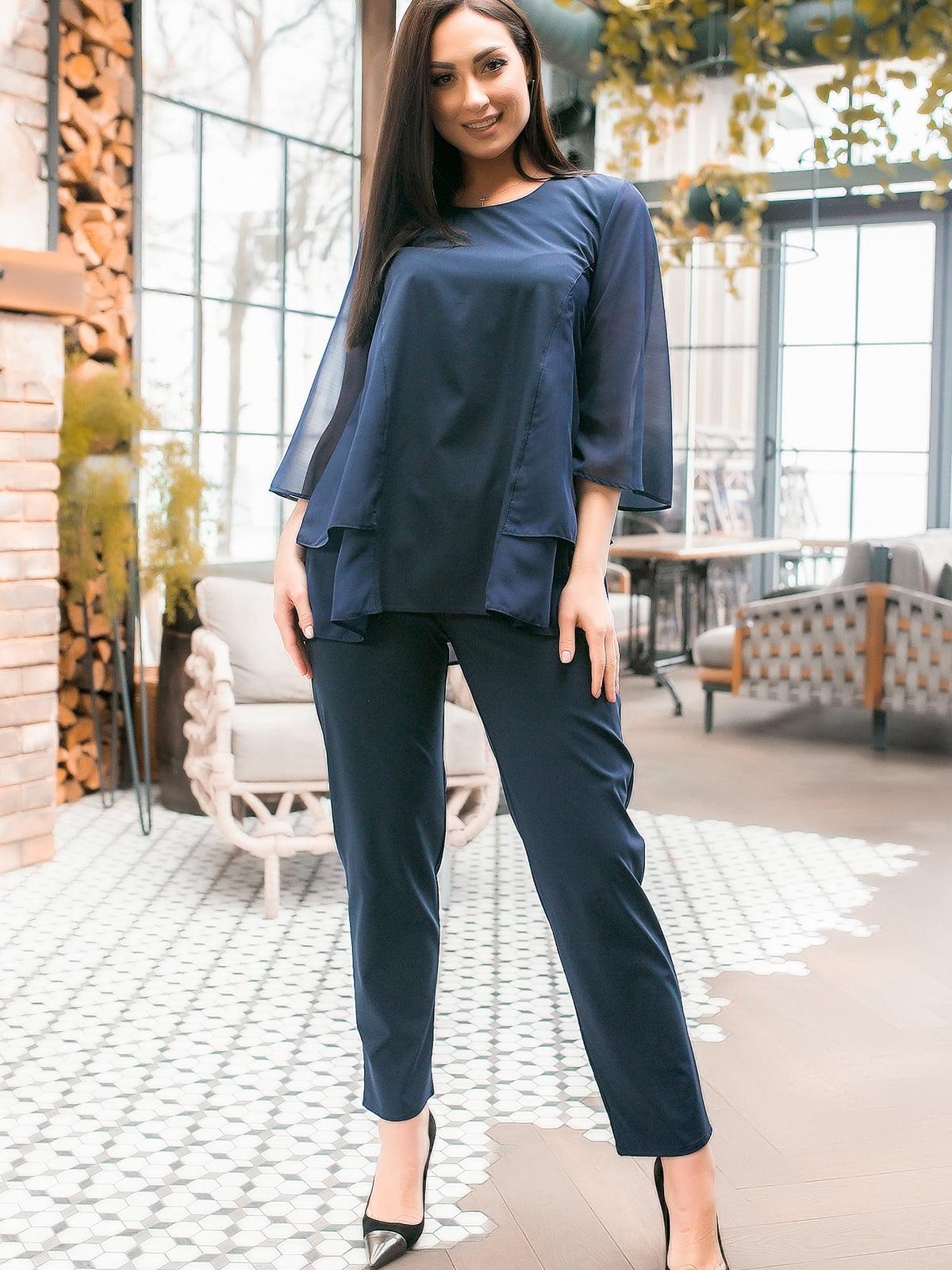 Костюм: блуза и брюки | 5445298