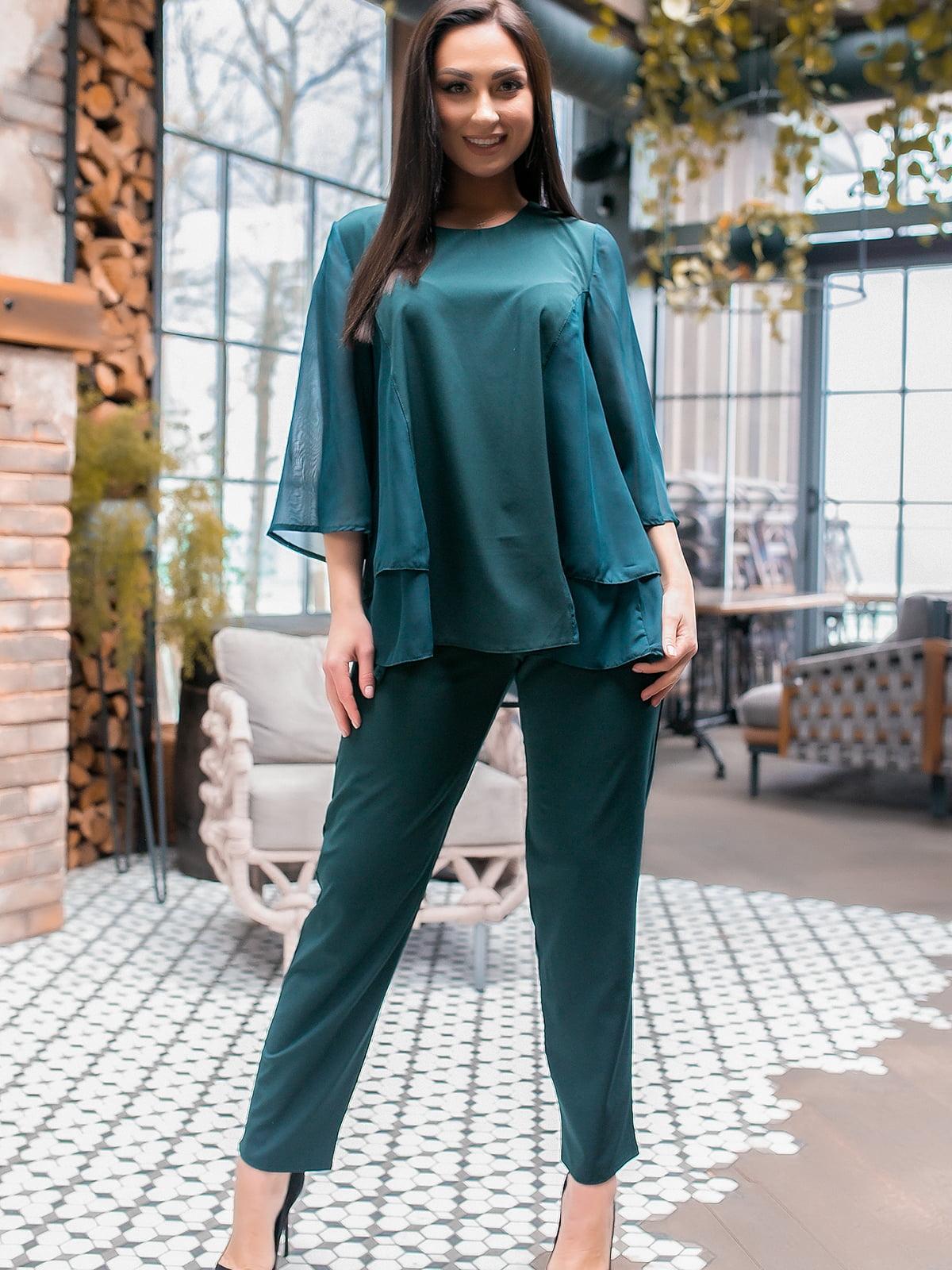 Костюм: блуза і штани | 5445302
