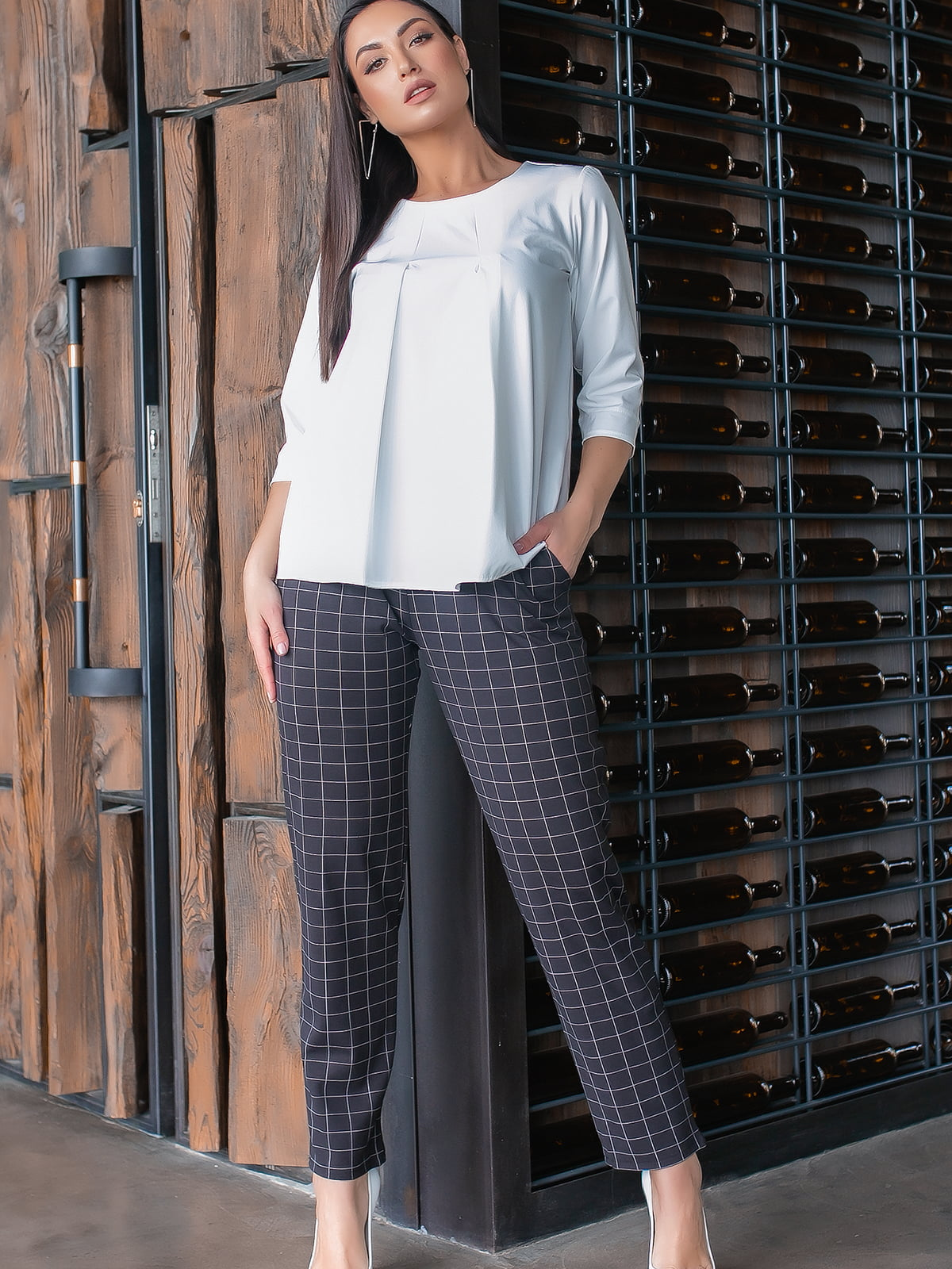 Костюм: блуза і штани | 5445304
