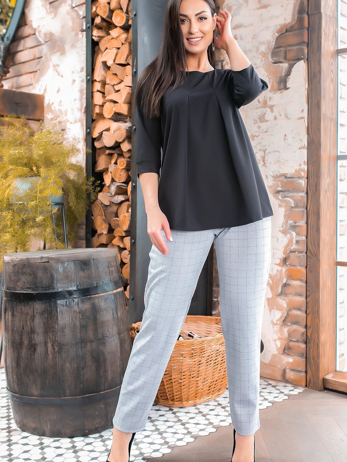 Костюм: блуза і штани | 5445307