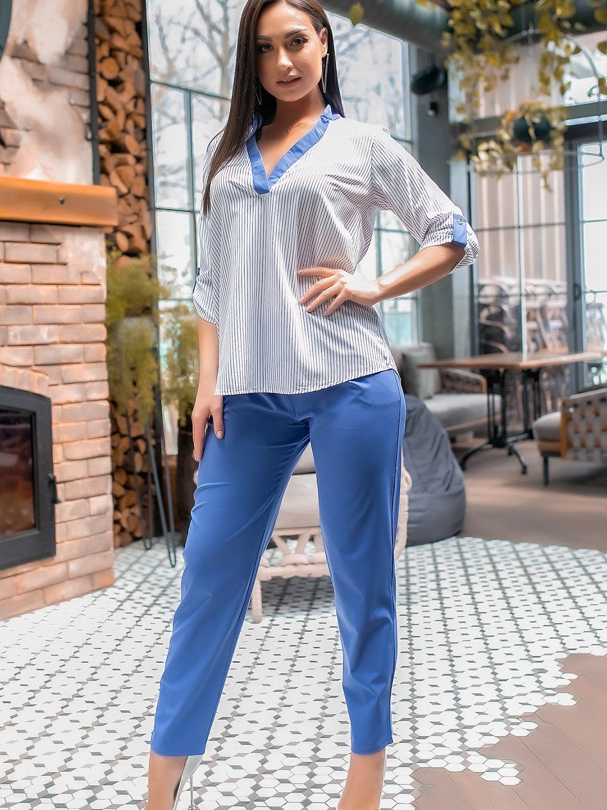 Костюм: блуза и брюки | 5445308