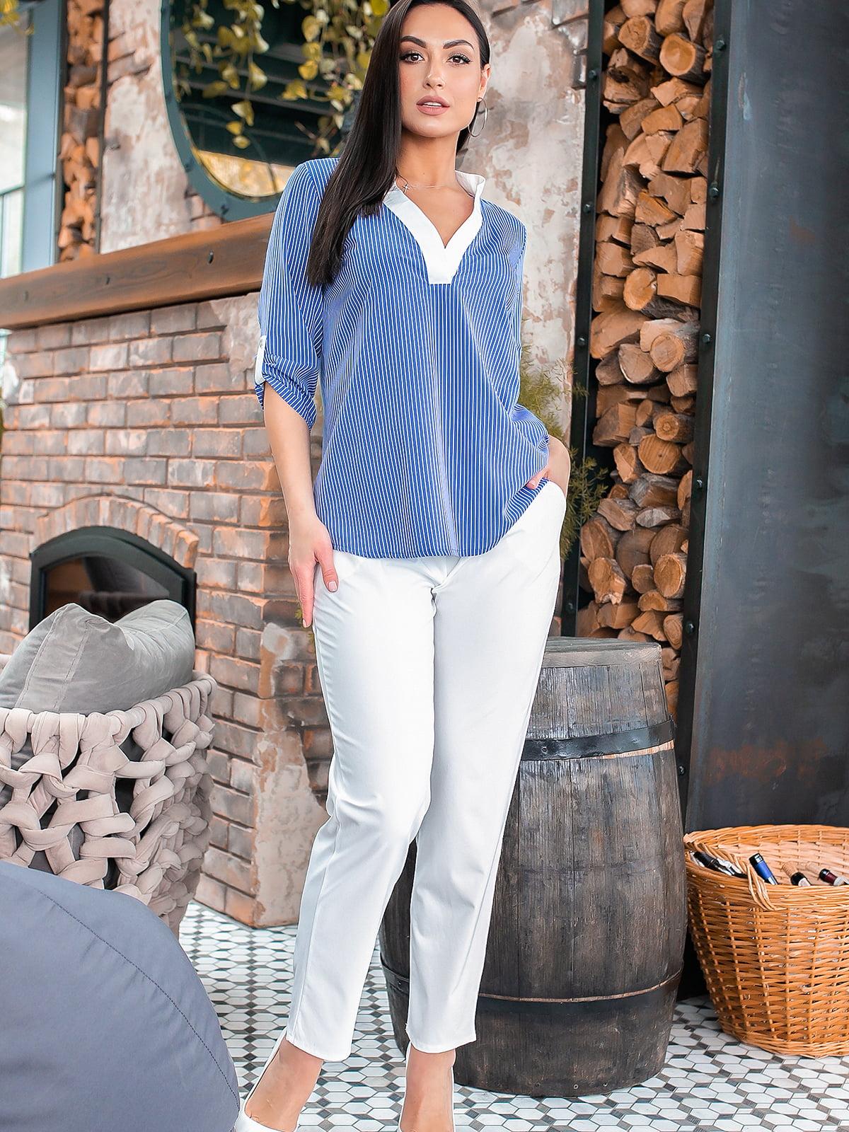 Костюм: блуза і штани | 5445312