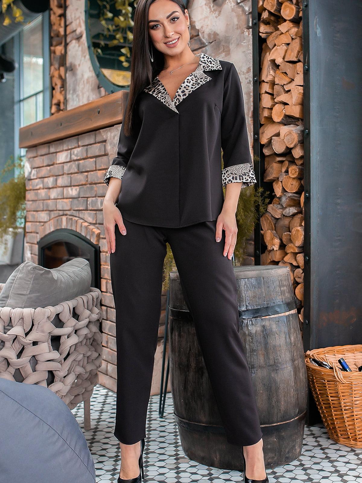 Костюм: блуза и брюки | 5445331