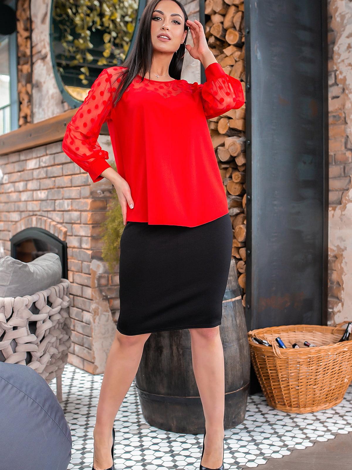 Костюм: блуза і спідниця | 5445351