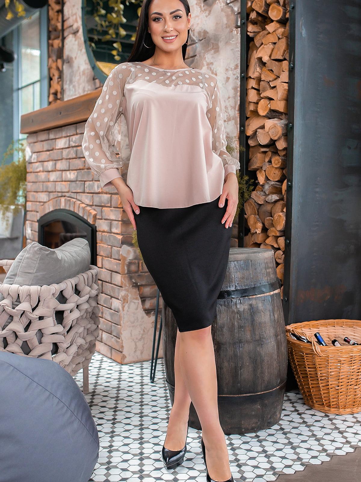 Костюм: блуза и юбка   5445353