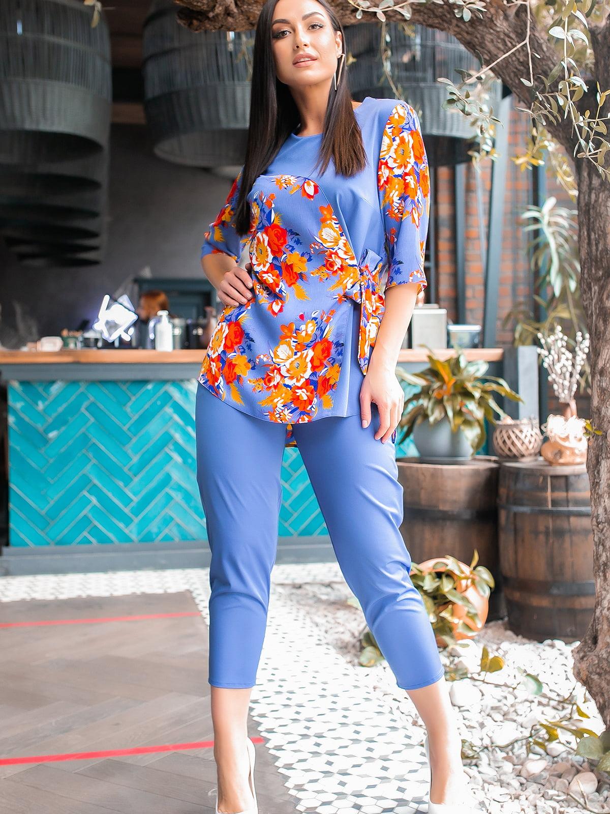 Костюм: блуза и брюки | 5445368