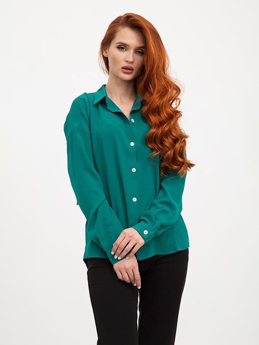 Блуза зеленая | 5445442