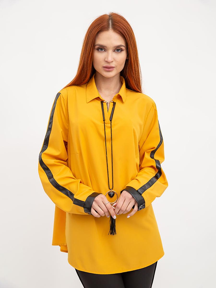 Блуза горчичного цвета | 5445460