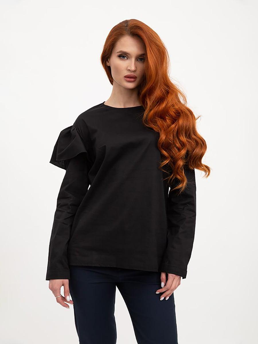 Блуза черного цвета   5445464