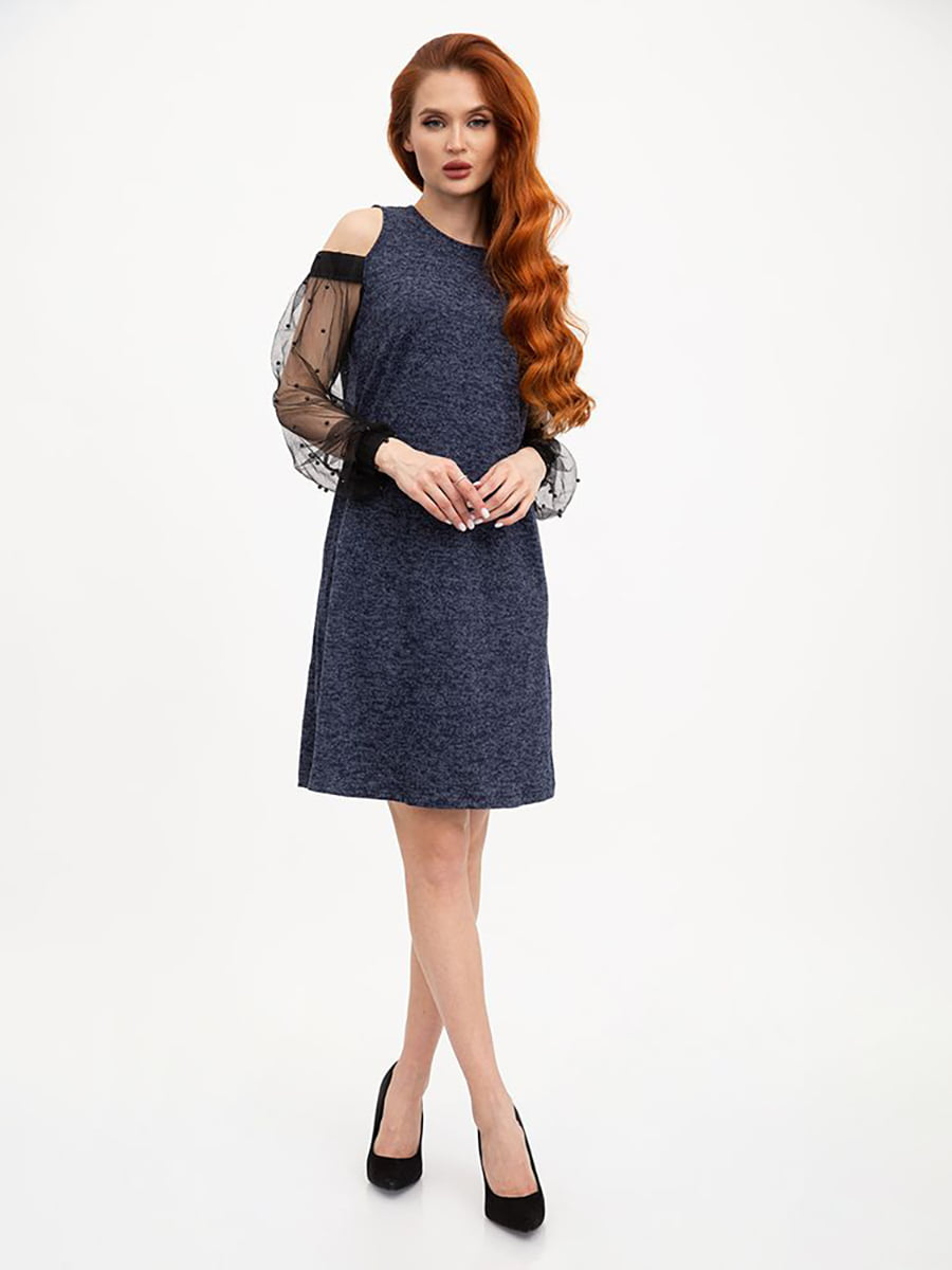 Платье синее | 5445596
