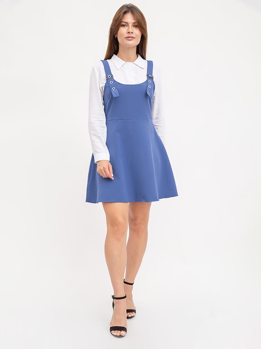Сарафан синий | 5445628
