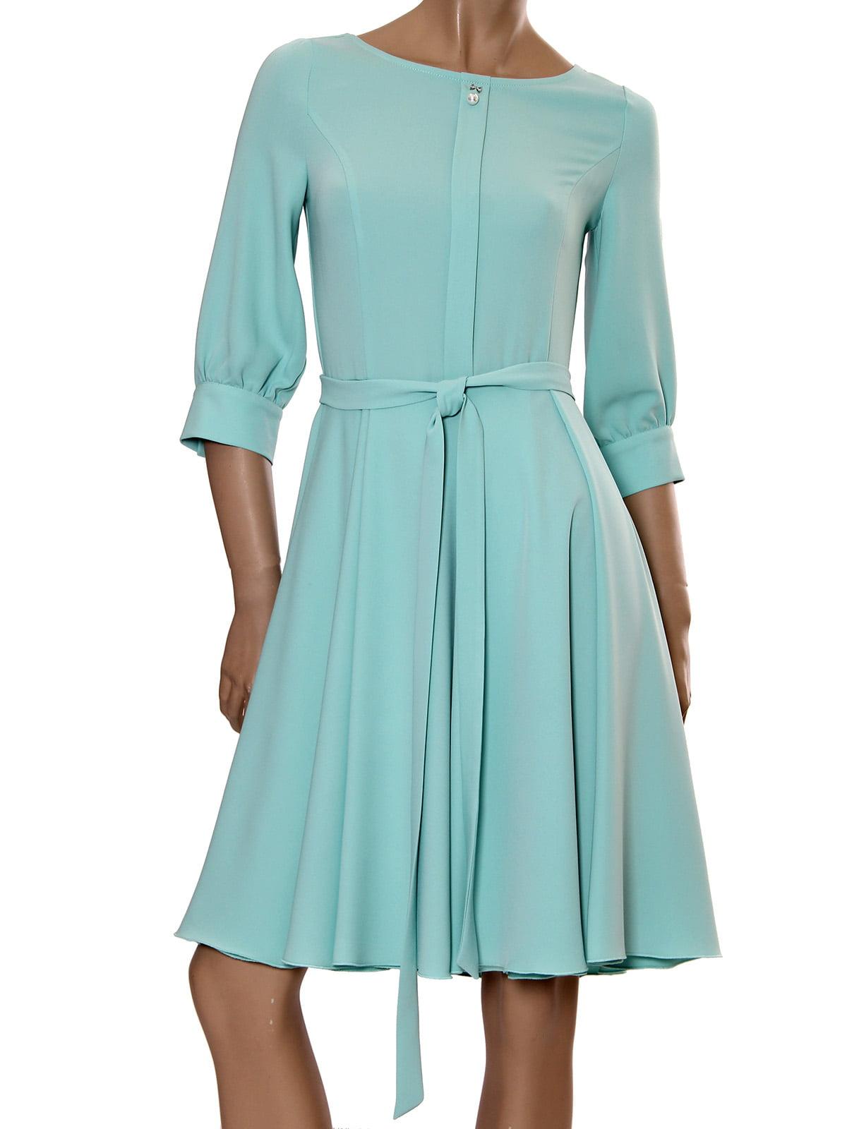 Платье бирюзовое | 5447824