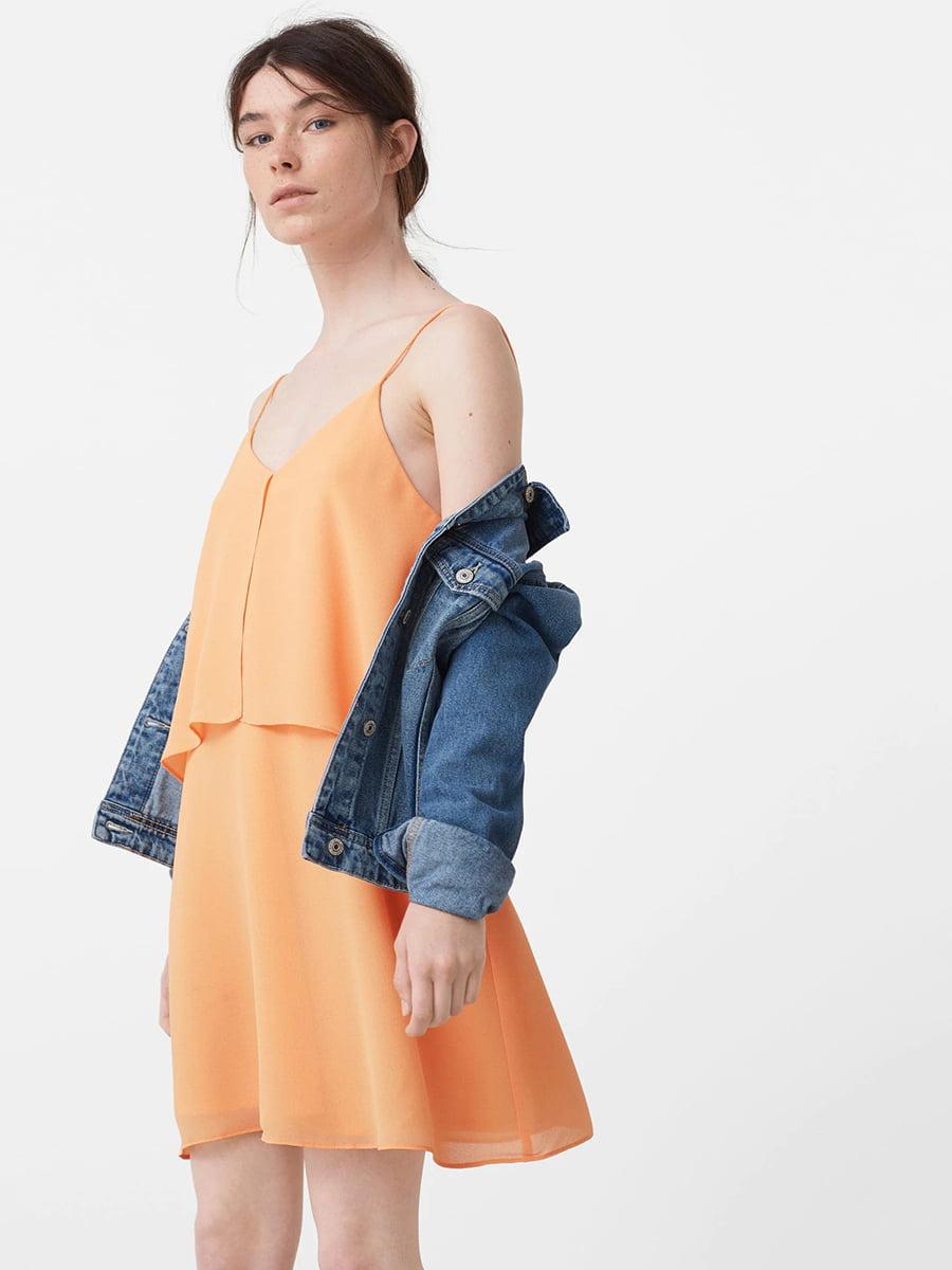 Платье желтое | 5448396