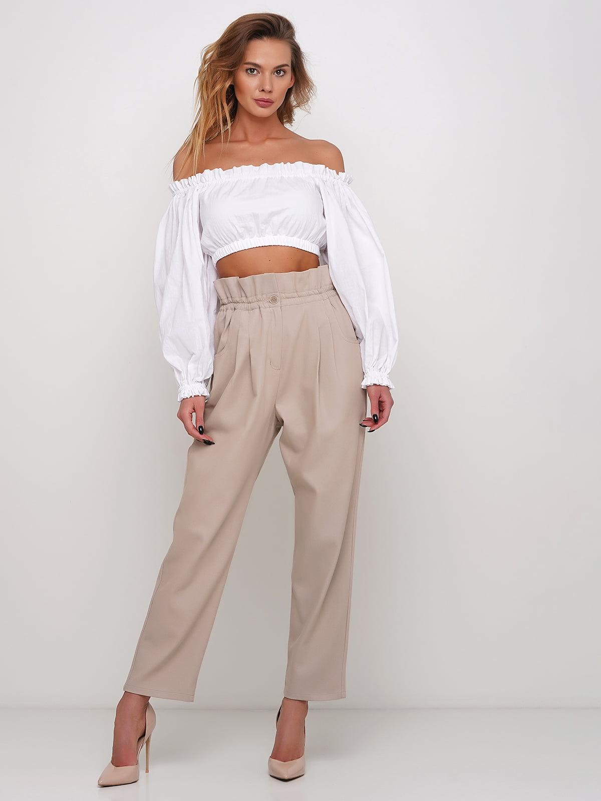 Блуза белая   5448760