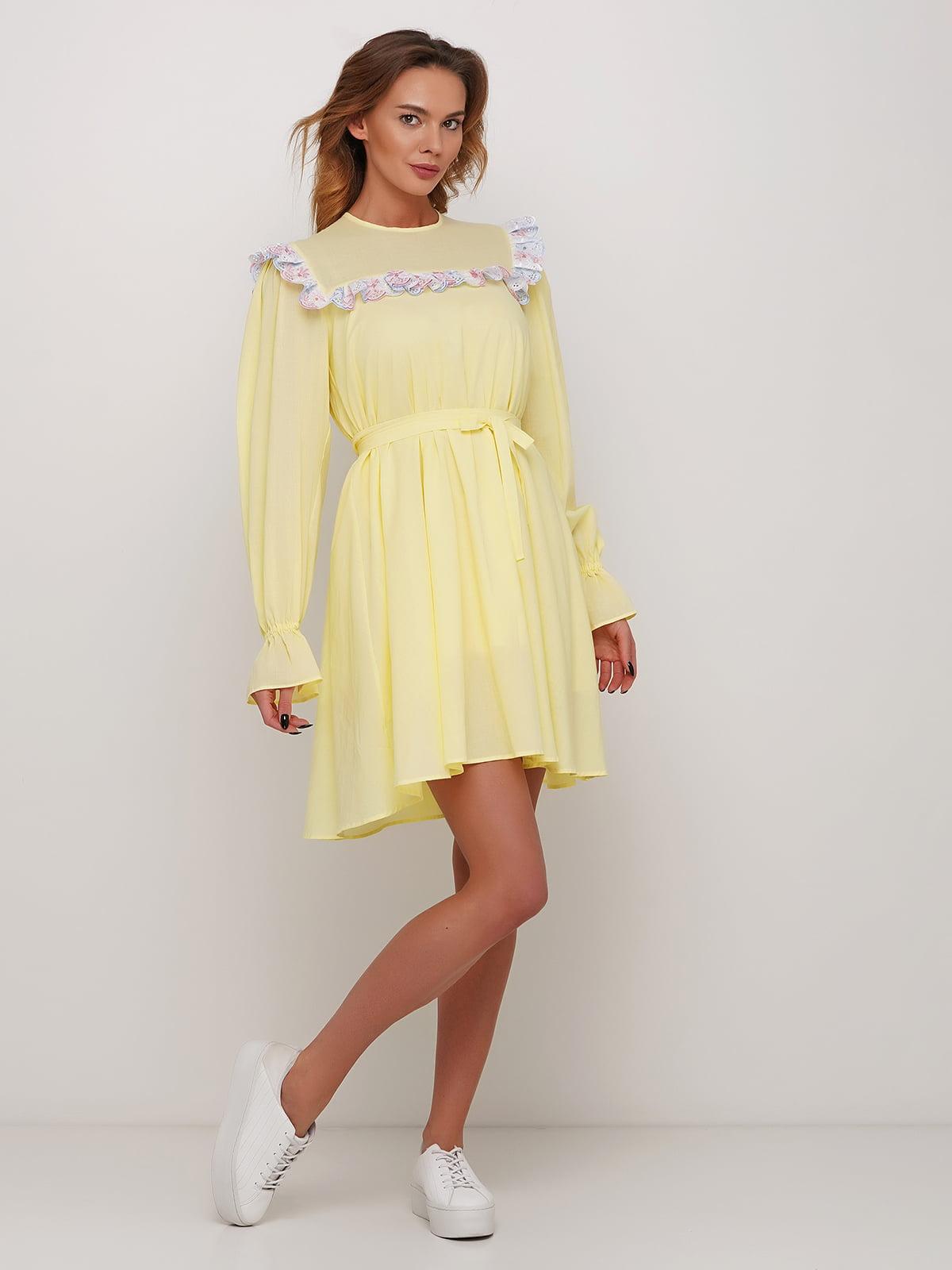 Сукня жовта | 5448769