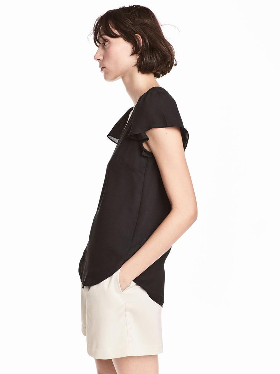 Блуза черная   5449141
