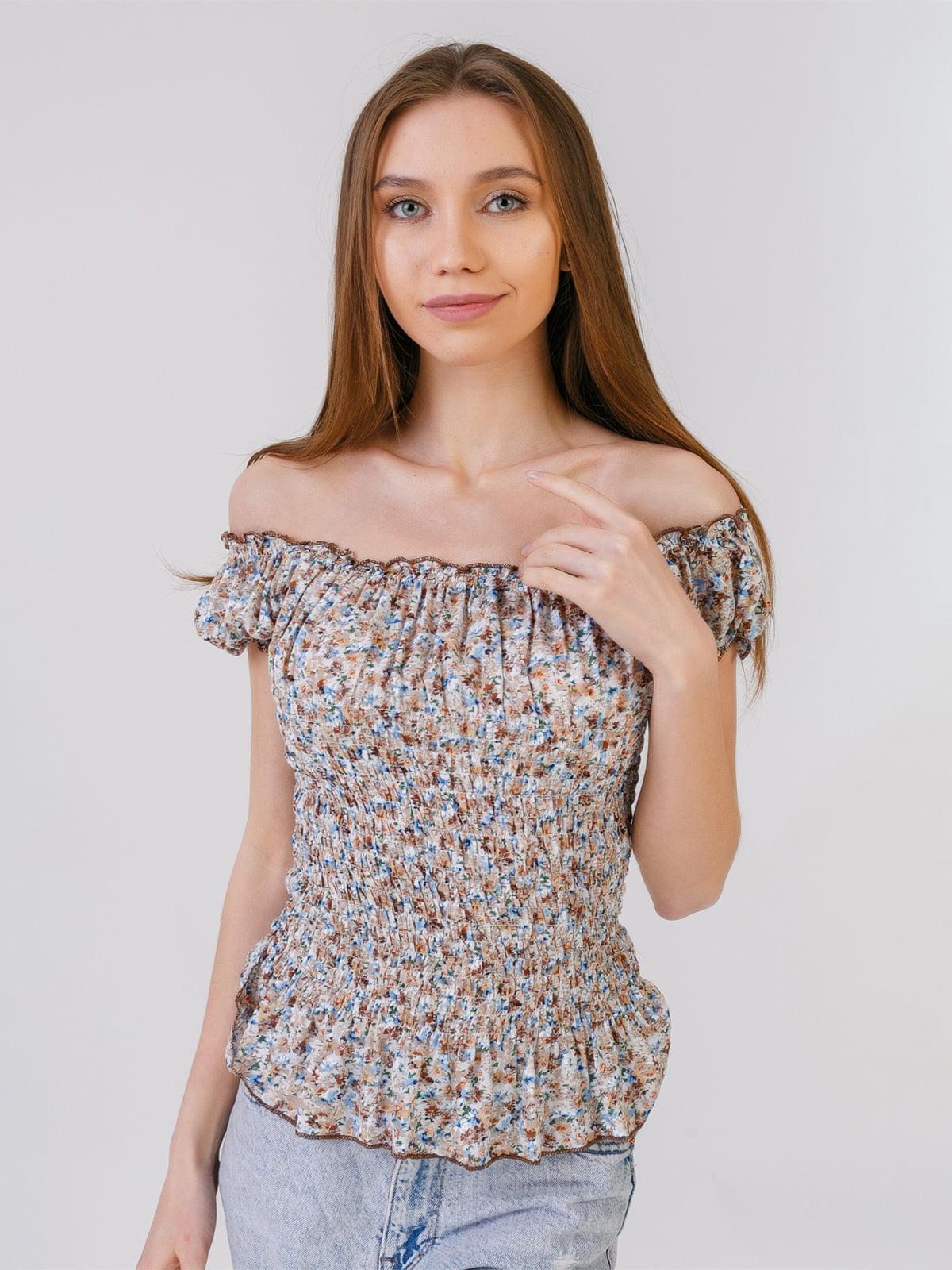 Блуза в квітковий принт | 5441587