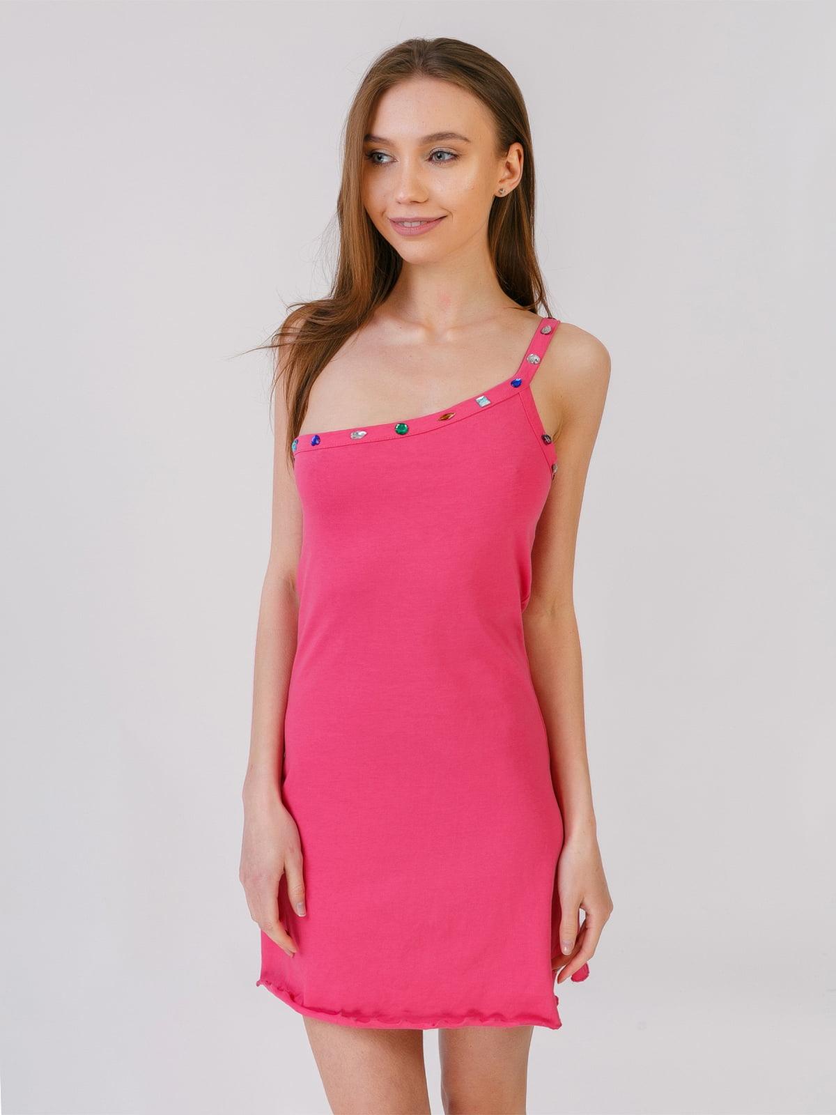 Сукня-туніка рожева | 5441592