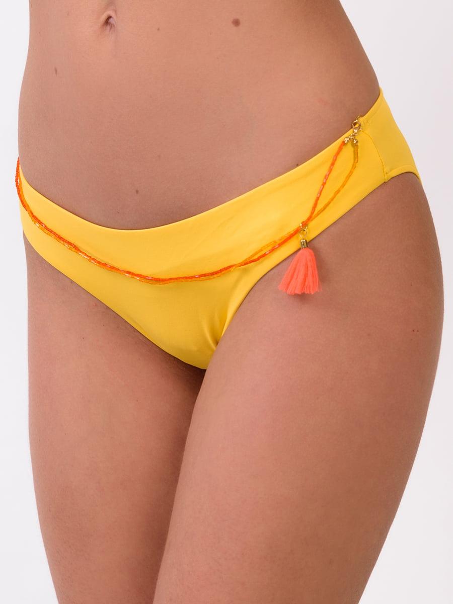 Труси купальні жовті | 5451238