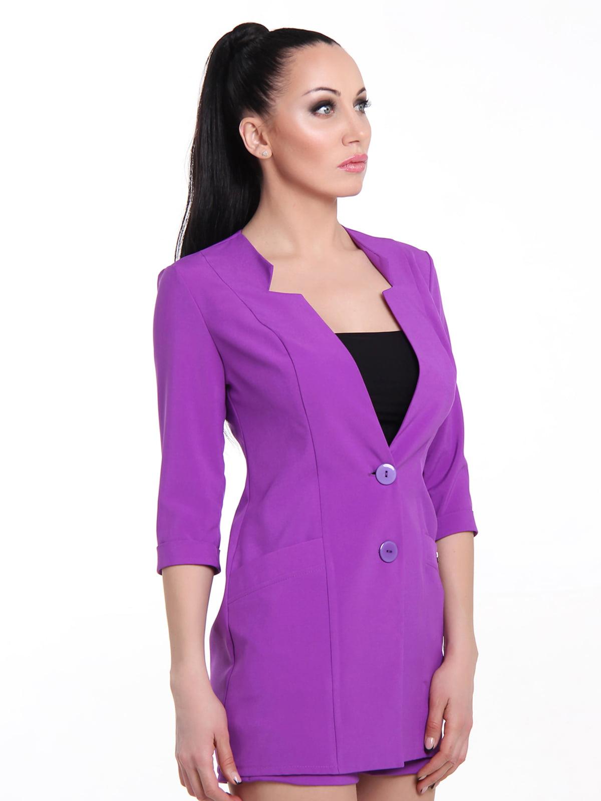 Жакет фіолетовий | 5455378