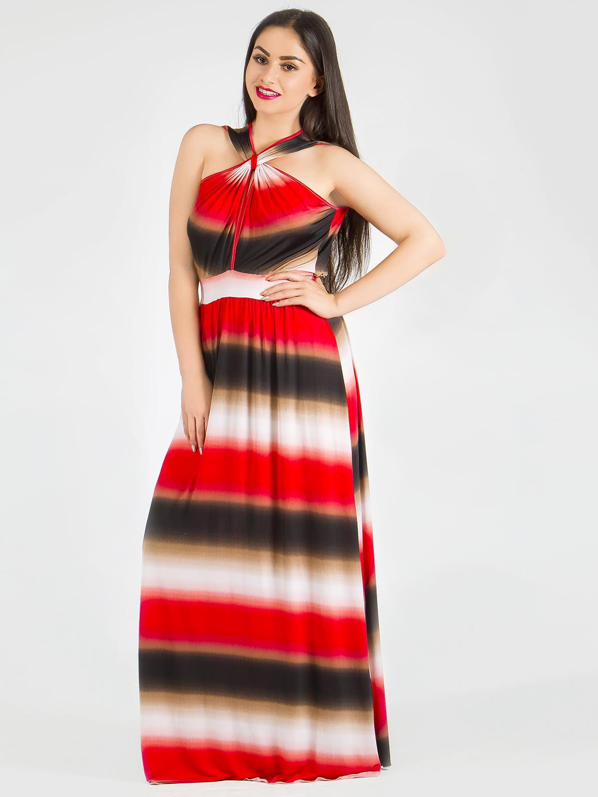 Сарафан червоно-чорний | 5455387