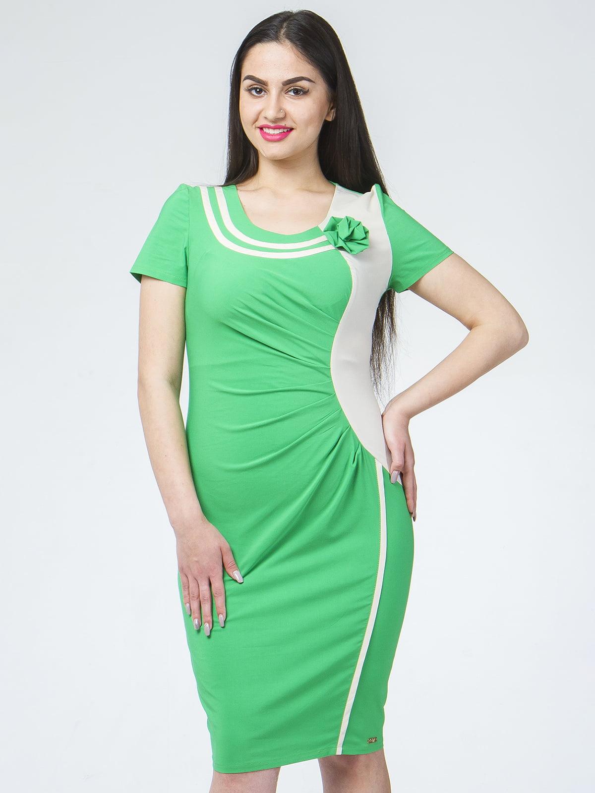 Сукня темно-зелена | 5455401