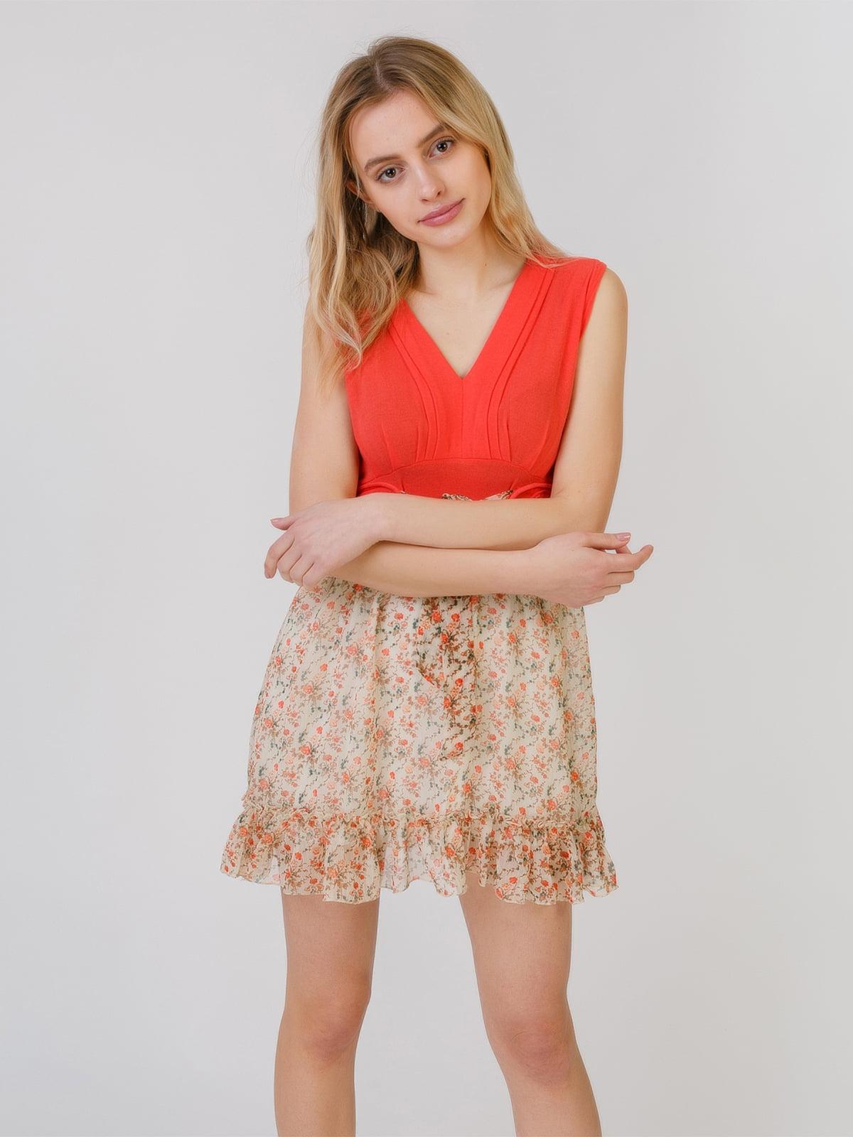 Платье с цветочным принтом | 5452071