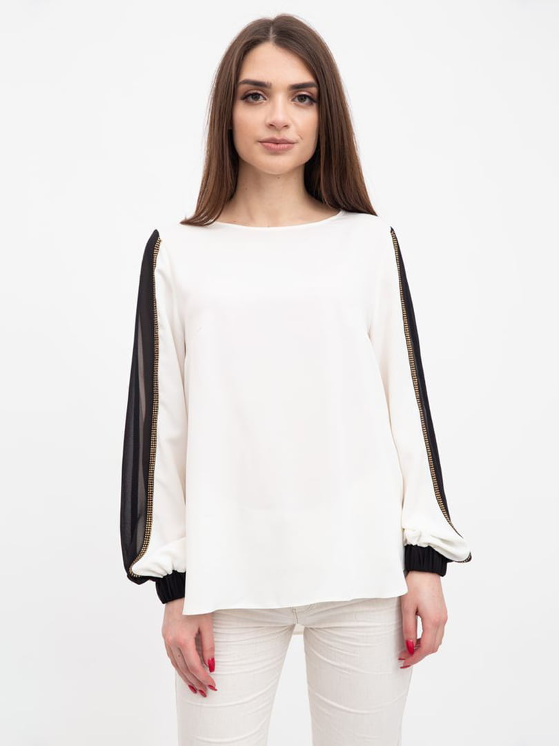 Блуза молочного цвета | 5456521