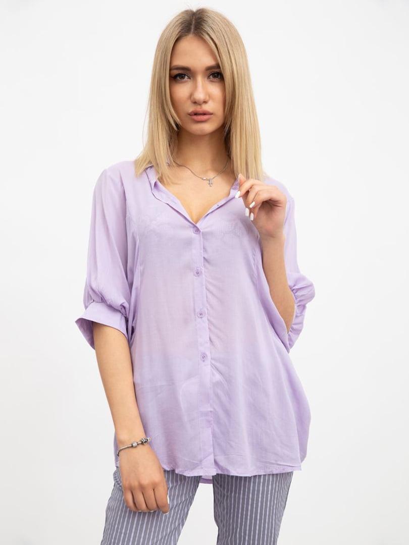Блуза сиреневая | 5456524