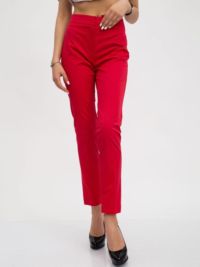 Штани червоного кольору | 5456528