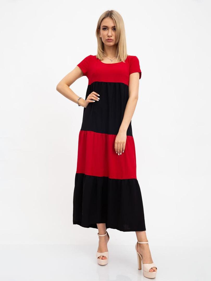 Платье красно-черное | 5456588
