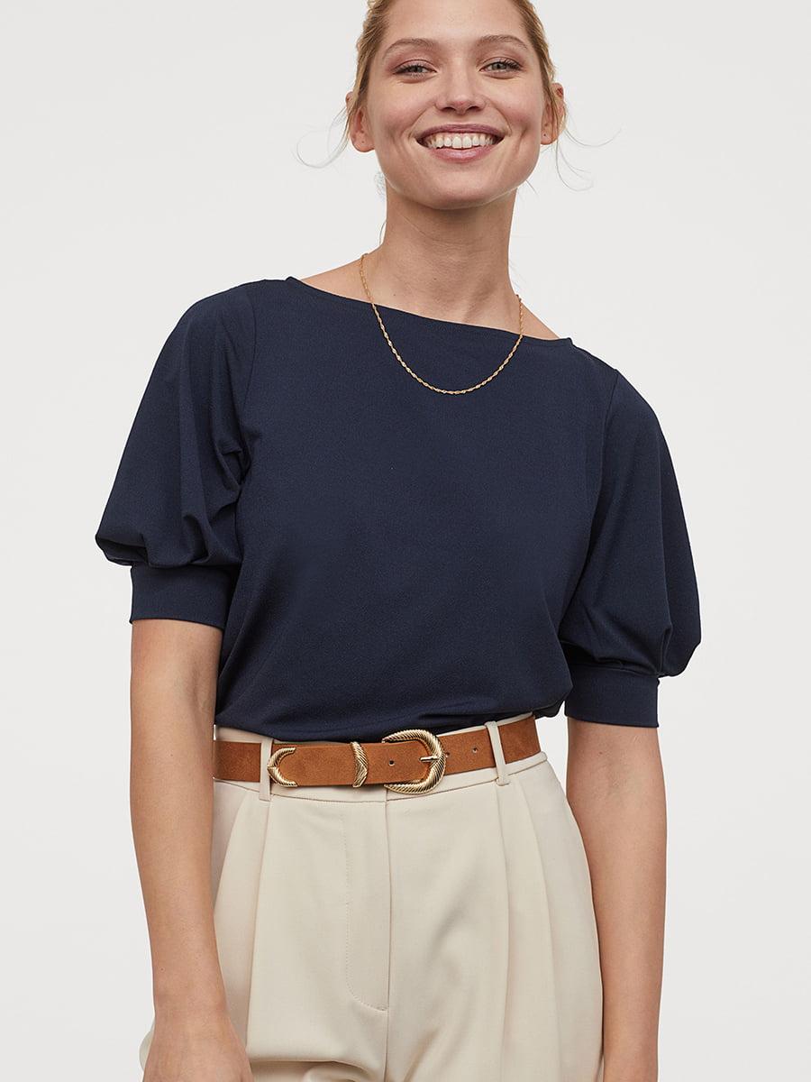 Блуза синяя   5402194