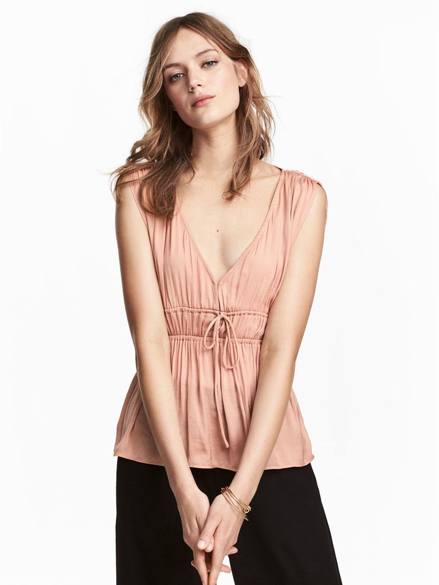 Блуза персикового цвета | 5449975